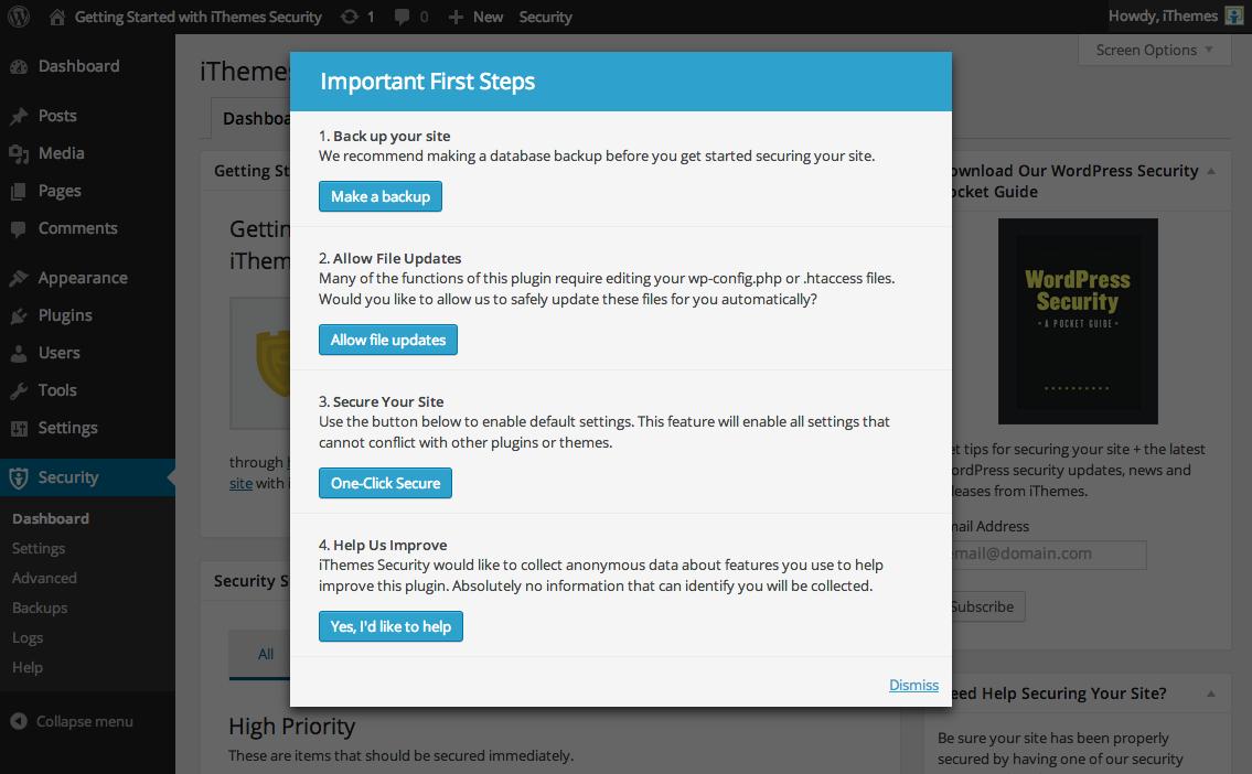 better-wp-security screenshot 2