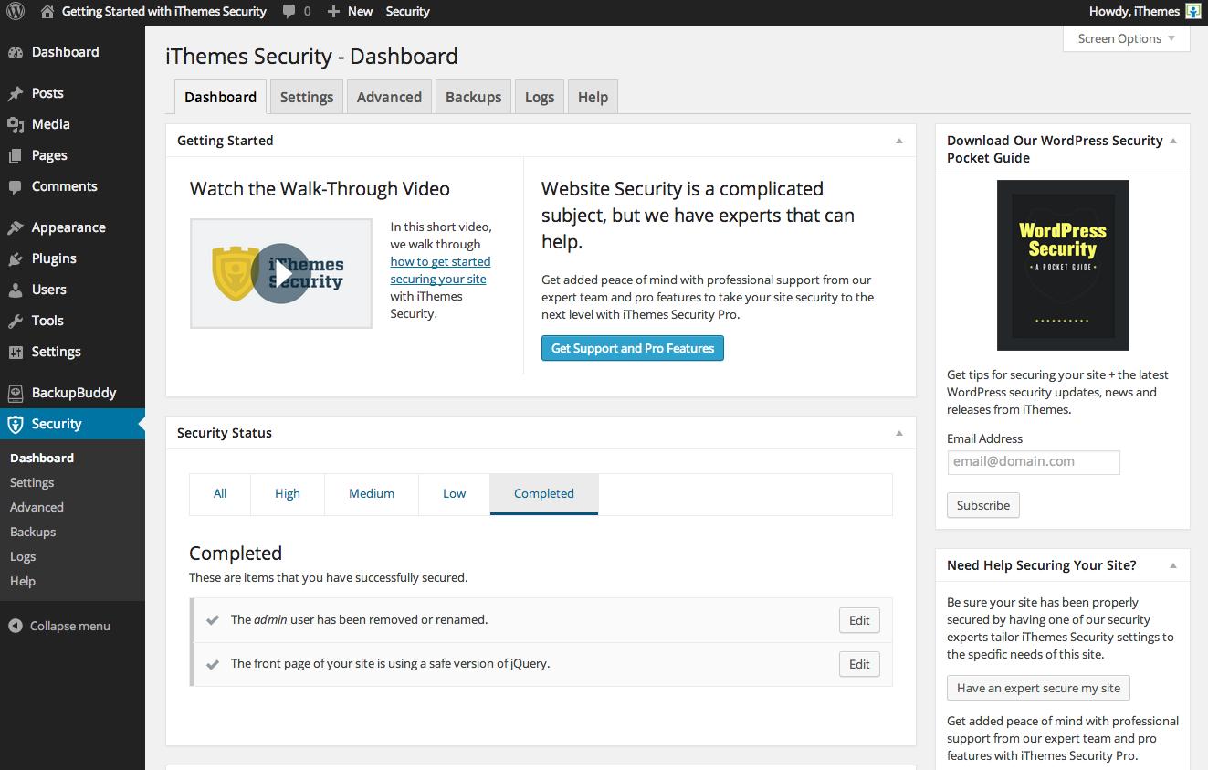 better-wp-security screenshot 5