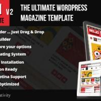 دانلود قالب مجله ای و بلاگ وردپرس Rojo v.2.0 راست چین