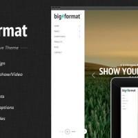 دانلود قالب متفاوت و تمام صفحه وردپرس BigFormat v.1.4