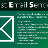 اسکریپت خبرنامه سایت Fast Email Sender v1.0.7