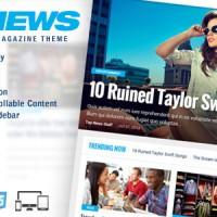 دانلود پوسته خبری TOP News برای وردپرس
