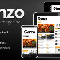 دانلود قالب پرطرفدار Gonzo v1.9.0 وردپرس