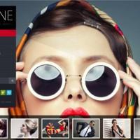 قالب زیبای Irene برای گالری عکس html