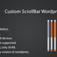 ایجاد اسکرول بار زیبا در وردپرس با افزونه Custom scrollbar wordpress