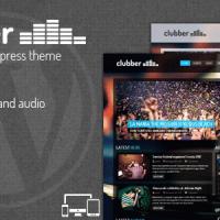 قالب زیبای موزیک وردپرس Clubber v2.4