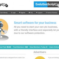 دانلود اسکریپت تبلیغات کلیکی Evolution Script v5.1 فارسی