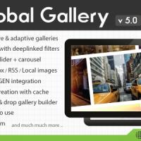 ایجاد گالری در وردپرس Global Gallery v5.0 – WordPress Responsive Gallery