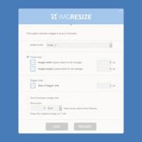 اسکریپت تغییر گروهی اندازه تصاویر IMGResizer
