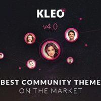 قالب چند منظوره و  حرفه ای KLEO v4.0.7 به صورت رایگان