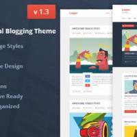 دانلود قالب مجله ای و وبلاگی logger برای وردپرس
