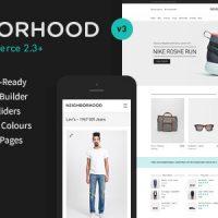 دانلود قالب فروشگاهی Neighborhood v3.4.0