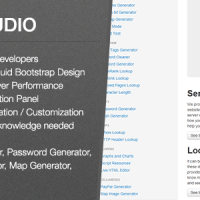 دانلود اسکریپت ابزار وبمستر Web Studio v1.3