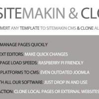 اسکریپت مدیریت محتوای Sitemakin and Cloner نسخه 1.4
