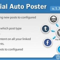 افزونه وردپرس اشتراک گذاری خودکار مطالب در شبکه های اجتماعی Social Auto Poster
