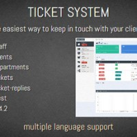 TICKET SYSTEM اسکریپتی برای مدیریت و پشتیبانی از طریق تیکت