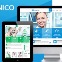 دانلود قالب Clinico html
