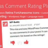 امتیاز دهی به نظرات وردپرس با WordPress Comment Rating نسخه 1.5.0