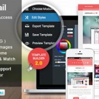 قالب ایمیل زیبای CampaignMail به صورت HTML