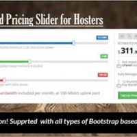 اسکریپت اسلایدر قیمت ابری Cloud Pricing Slider