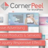 افزونه ایجاد تبلیغ برگه گوشه ای در وردپرس Corner Peel