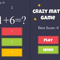 اسکریپت بازی آنلاین Crazy Math ( بازی ریاضی ) نسخه 1.1