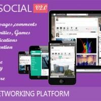 اسکریپت شبکه اجتماعی crea8social نسخه ۳ همراه با افزونه چت