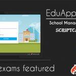 اسکریپت مدیریت مدارس و آموزشگاه EduAppGT Pro نسخه 3.5