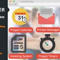 اسکریپت ارتباط با مشتری و مدیریت پروژه Freelancer Office نسخه ۱.۶