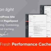 افزونه بیهنه ساز وردپرس Fresh Performance Cache v1.0.6