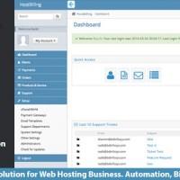 دانلود اسکریپت پیشرفته مدیریت هاستینگ HostBilling