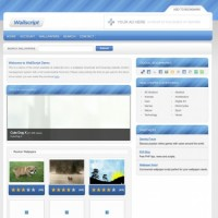 اسکریپت ایجاد سایت والپیپر و گالری WallScript Pro v1.1.2