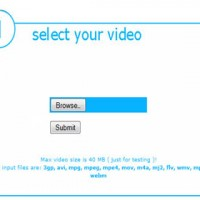 اسکریپت تبدیل فرمت ویدئو به صورت آنلاین php video converter