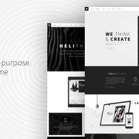 قالب وردپرس سایت در حال ساخت است Structure – Construction WordPress Theme