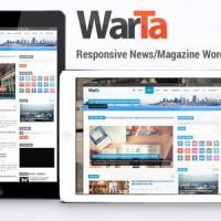 دانلود قالب مجله ای وردپرس Warta v1.5.4 راستچی