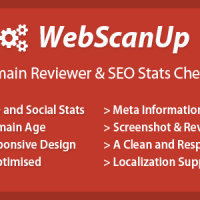 اسکریپت خدماتی نمایش اطلاعات سایت WebScanUP v1.6