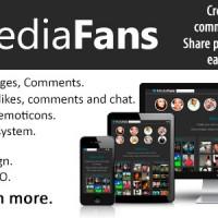 اسکریپت ایجاد سایت گالری فیلم و عکس MediaFans v1.1