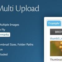 اسکریپت آپلودسنتر ساده و زیبا Image Multi Upload v2.5