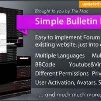 دانلود رایگان اسکریپت انجمن ساز Simple Bulletin Board نسخه ۴.۲